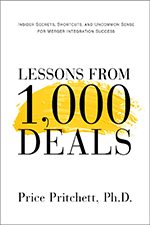 Lessons from 1000 deals