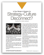 Strategy Culture disconnect