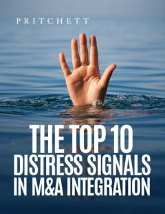 Top 10 Distress Signals in M&A Integration