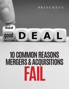 10 Common Reasons Mergers & Acquisitions Fail