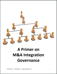 A Primer on M&A Integration Governance