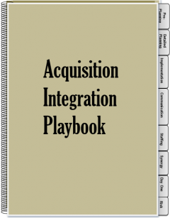 Acquisition Integration Playbook - $8 Billion Deal