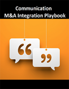 Communications M&A Integration Playbook