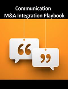 M&A Communication | | Merger Communication Plan | Post