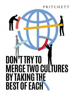 Don't try to Merge 2 Cultures
