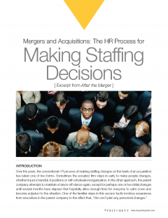 Making Staffing Decisions