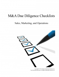 Sales, Marketing and Operational M&A Checklist