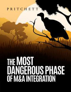 The Most Dangerous Phase of M&A  Integration