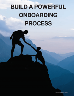 Build a powerful onboarding process