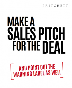 Make A Sales Pitch For The Deal