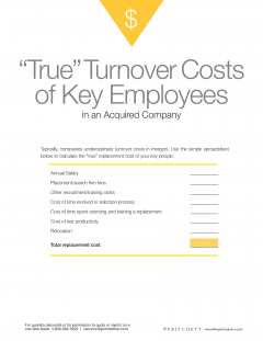 The True cost of turnover