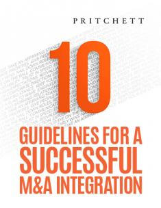10 guidelines for a successful M&A integration