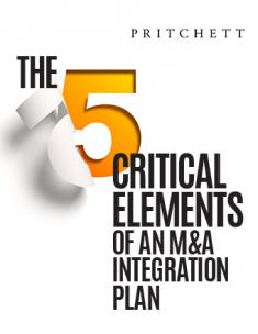 The 5 Critical Elements of an M&A Integration Plan
