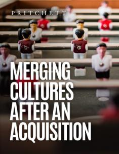 Merging Cultures After An Acquisition