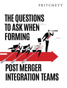 Forming your Post Merger Integration Teams