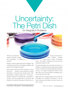 Uncertainty The Petri Dish