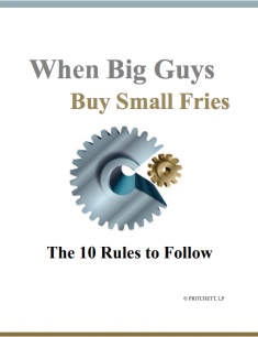 When Big Guys Buy Small Fries: The 10 Rules to Follow