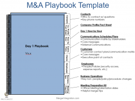 M&A Playbook Template
