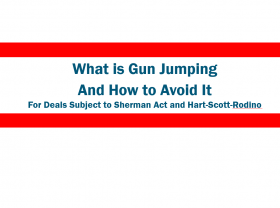 What is Gun Jumping and How to Avoid It