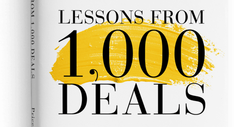 Lessons from 1,000 M&A Deals